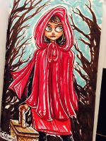 Red Hood into the Woods by Anamated