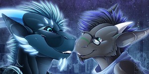 Icon Comish - Love Storm by TwilightSaint