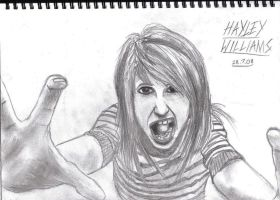 hayley williams by honjin