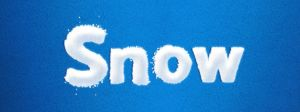 Snow Text Effect Freebie by bestpsdfreebies