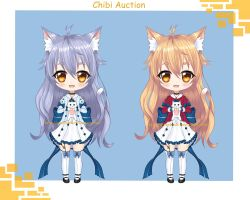 Adoptable chibi auction (Closed) by chechoski