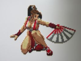 Mai Shiranui by 8-BitBeadsStudio