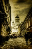The streets of Helsinki by bluescript