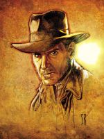 Indiana Jones Mug by StephaneRoux