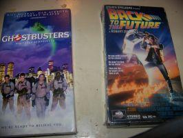 VHS Copies of two of my favorite 80s movies by jhwink
