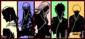 Bleach in iPod-style by kazura-uyurin