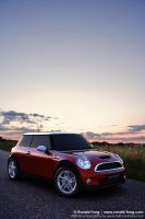 3D Mini Cooper HDRI Lighting by minifong