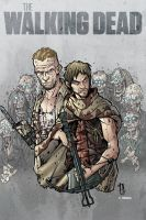 TWD Dixon brothers print for WW Portland by Dany-Morales