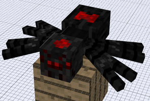 Mob Idea - Wither Spider by FawkesTheSkarmory