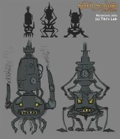 design concept of the furnace by JuliaMyr