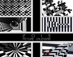 2013 opART calendar in case of delayed apocalypse by Reaperrr1