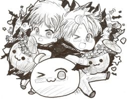 APH: Happy Halloween by HoneyHamster