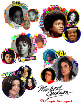 MJ through the ages by invaderjavi