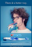 Crest SpinBrush Ad by seenew