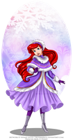 Winter Princess - Ariel by selinmarsou