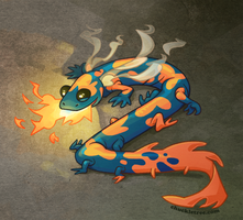 Salamander by WonderDookie