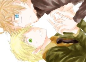 Axis Powers Hetalia US-UK by Pecore-Nere