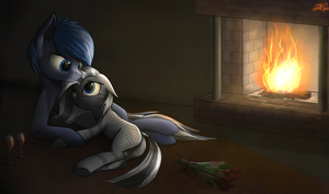 [COMMISSION] Evening for pair by Setharu