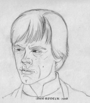 Luke Skywalker- lineart by SMH-REDELK
