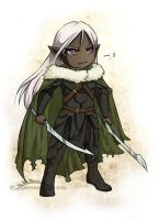 Drizzt Sticker by ladyarrowsmith
