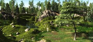 A Natural  Garden by rraffy