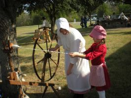 Spinning Wheel Lesson by theoracleofdreams