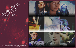 Mass Effect Icon Set #1 by NinjaYuffie16