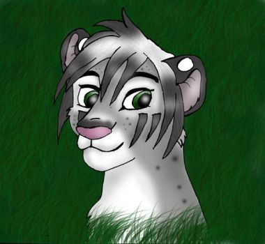 .: Snow Leopard tiger :. by kagome-h