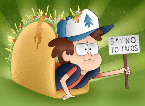 Say NO to Tacos by MLPegasis4898