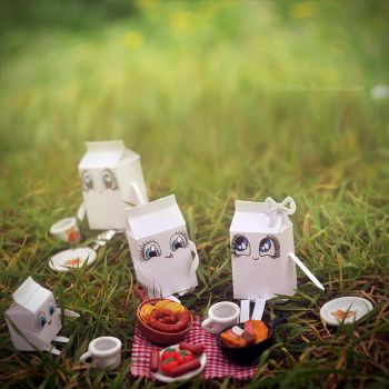Milky Picnic by Siilin