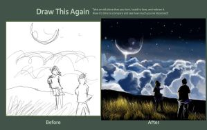 Greta Macedonio Draw this again Challenge by Greta13Macedonio