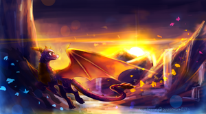 C: Spyro by AquaGalaxy