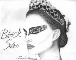 Black Swan by Fonzie Graziano by FonzieMonster
