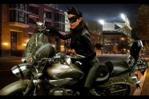 Selina Kyle - Catwoman Cosplay -  tdkr by BabiSparrow