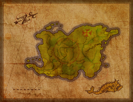 Dinky Island Map by Lord-Cephas