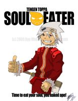 Tengen Toppa Soul Eater by digital-strike