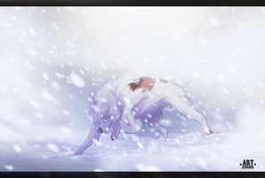 snow storm by Zerosha