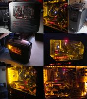 New Pc Build! Meet the Black Vixen by SoulDragonWithFlow