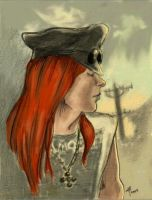Axl profile in color by WoolSocks
