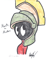 Marvin the Martian by highray
