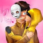 I just love you too much ^3^ by HalbZombie