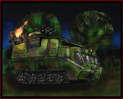 SHADO Mobile Anti-aircraft version by Andared