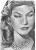 A tribute to Lauren Bacall by mohalfblood
