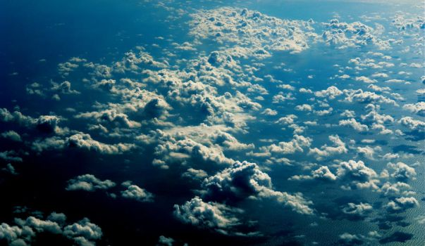 clouds from above 4 by Trkn172