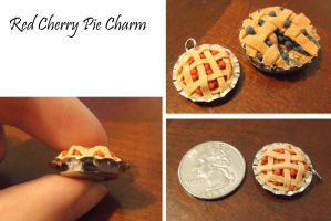 Mini Cherry Pie charm by Starfish2o
