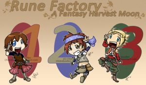 Rune Factory Heroes by Chibidoodles
