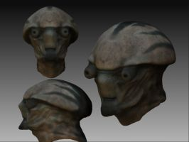 WIP - toad man thingamajig by SilentIvo