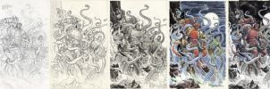 HELLBOY Laocoon-Steps by BillReinhold