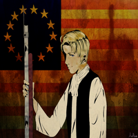 APH: America:  Extraordinary Hero by AveThree