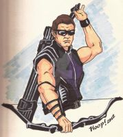 The Avengers: Hawkeye by twigstudios